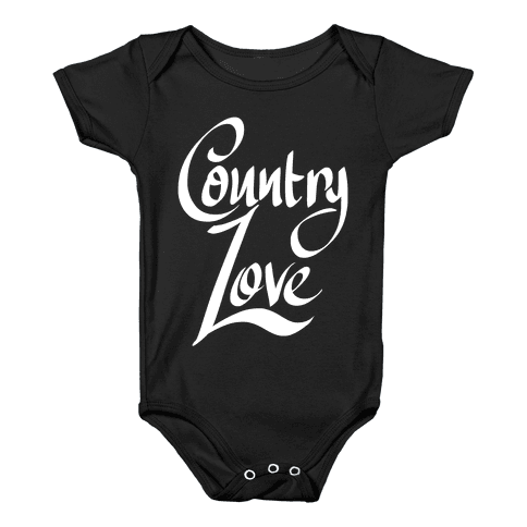 Country Love Baby Onesy