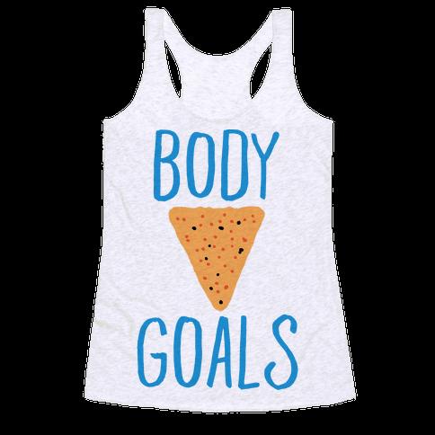Body Goals Racerback Tank Top