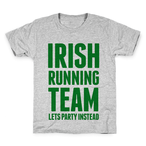 Irish Running Team Kids T-Shirt