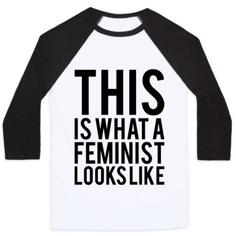 This Is What A Feminist Looks Like Baseball Tee