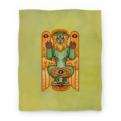 All-Seeing Sphinx Blanket
