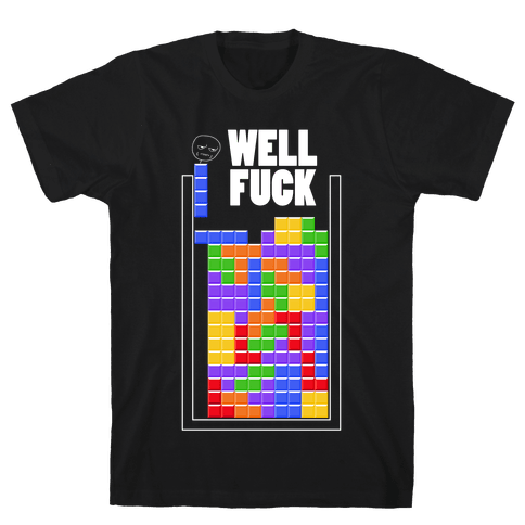 Tetris Mens T-Shirt
