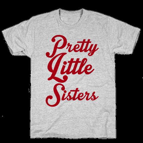 Pretty Little Sisters Mens T-Shirt