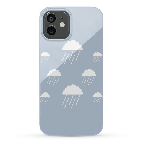 Minimalist Rain Clouds Phone Case