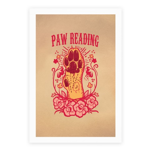 Paw Reading Poster