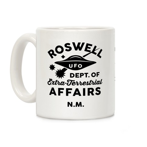 Roswell Department Of Extra-Terrestrial Affairs Coffee Mug