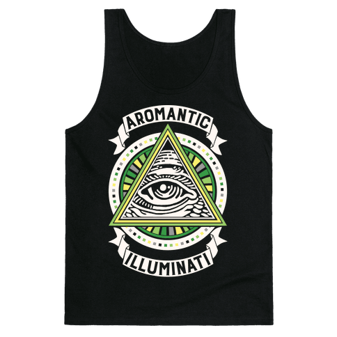 Aromantic Illuminati Tank Top