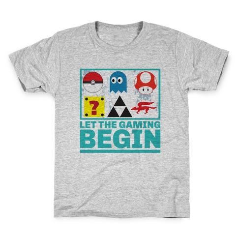 Start the Gaming Kids T-Shirt