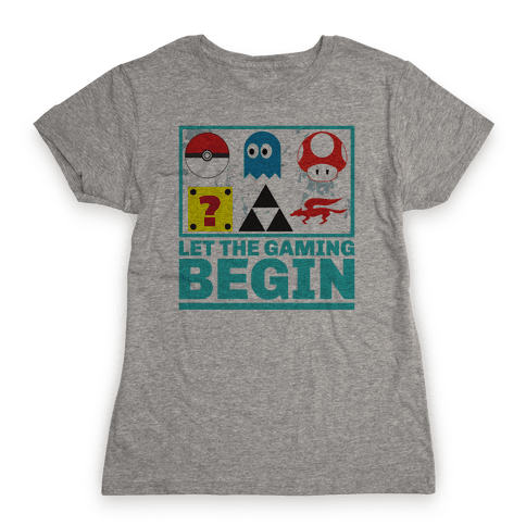 Start the Gaming Womens T-Shirt