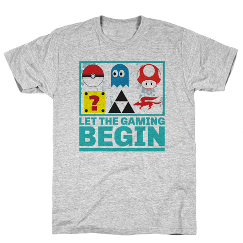 Start the Gaming Mens T-Shirt