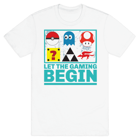 Start the Gaming Mens T-Shirt