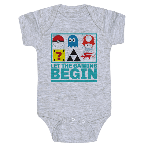 Start the Gaming Baby Onesy