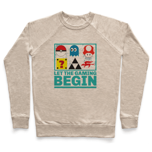 Start the Gaming Pullover