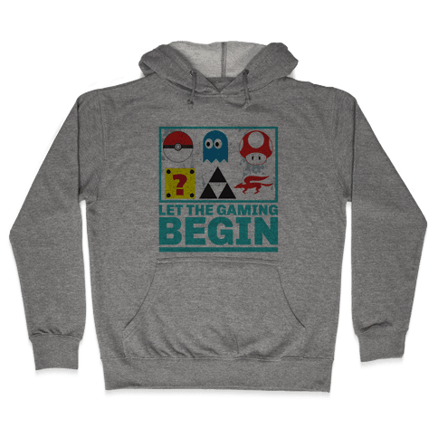 Start the Gaming Hooded Sweatshirt