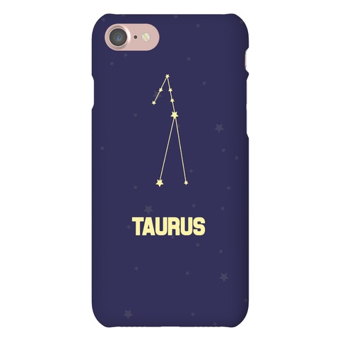 Taurus Horoscope Sign Phone Case