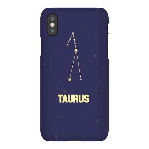 Taurus Horoscope Sign Phone Case