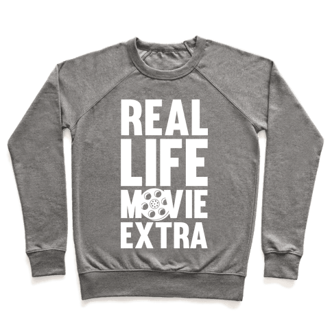 Real Life Movie Extra Pullover