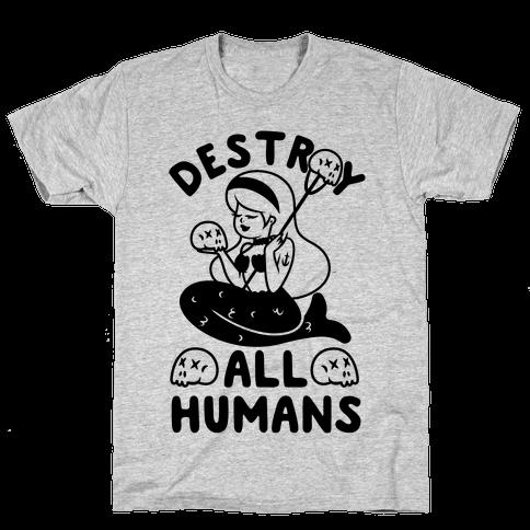 Destroy All Humans Mens T-Shirt