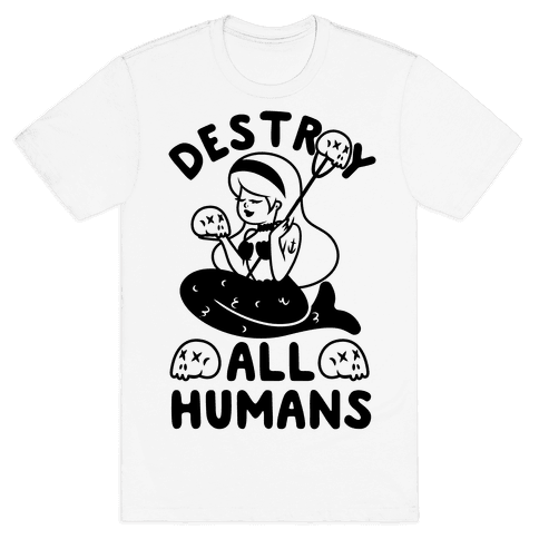 Destroy All Humans Mens T-Shirt