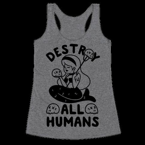 Destroy All Humans Racerback Tank Top