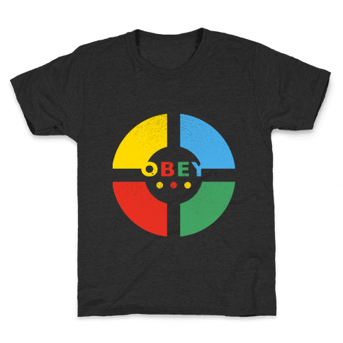 Simon Says Obey (Vintage) Kids T-Shirt