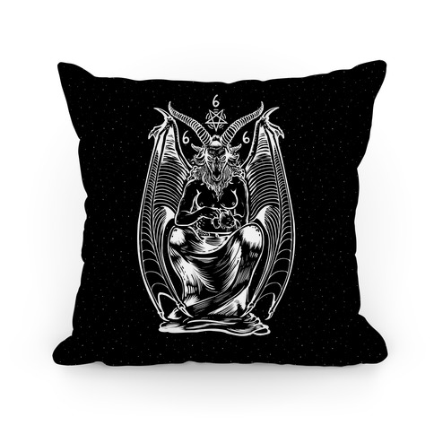 Pet Cats. Hail Satan. Pillow