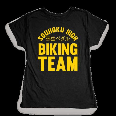 Souhoku High Biking Team Womens T-Shirt