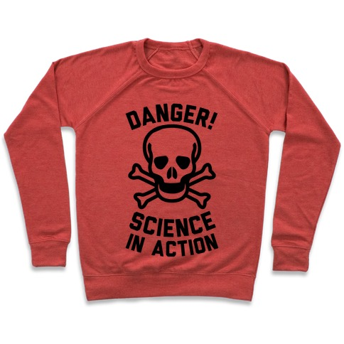Danger Science In Action Pullover