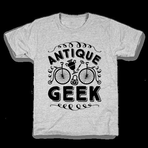Antique Geek Kids T-Shirt