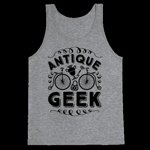 Antique Geek Tank Top