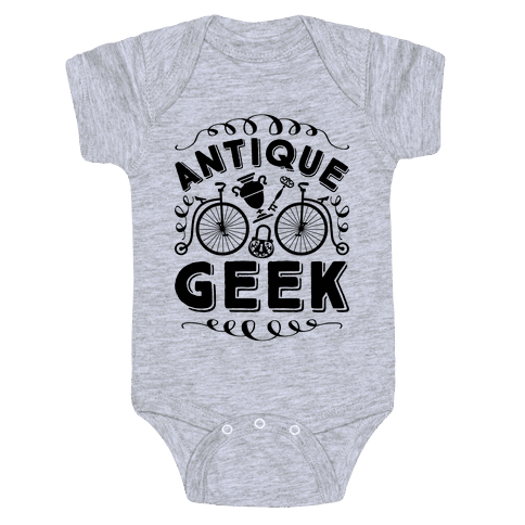Antique Geek Baby Onesy