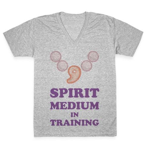 Spirit Medium In Training V-Neck Tee Shirt