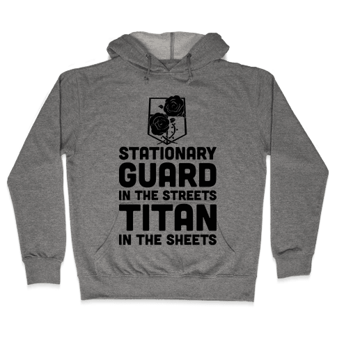 Stationary Guard In The Streets Titan In The Sheets Hooded Sweatshirt