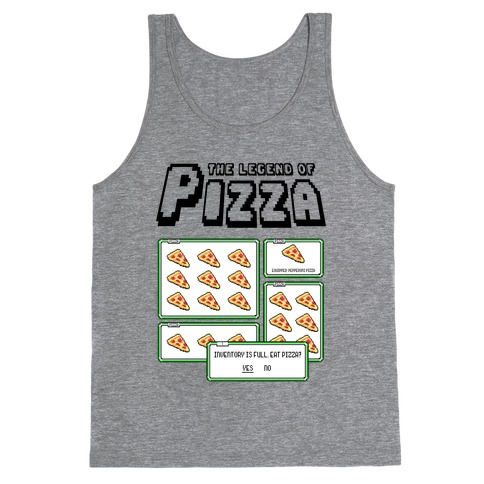 Pixel Pizza Inventory Tank Top