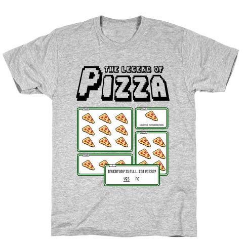 Pixel Pizza Inventory T-Shirt