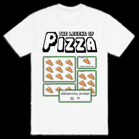 Pixel Pizza Inventory Mens T-Shirt