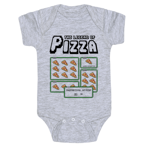 Pixel Pizza Inventory Baby Onesy