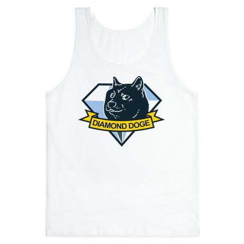 Diamond Doge Tank Top