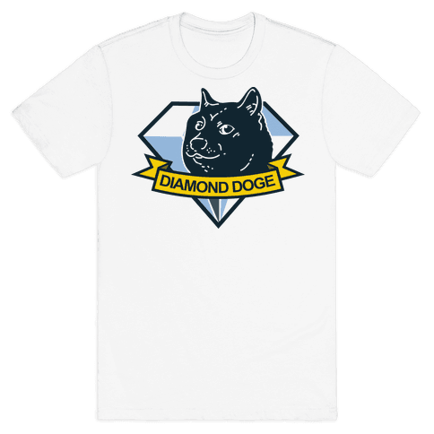 Diamond Doge Mens T-Shirt