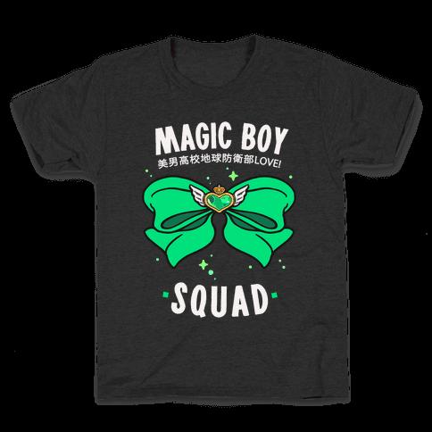 Magic Boy Squad (Green) Kids T-Shirt