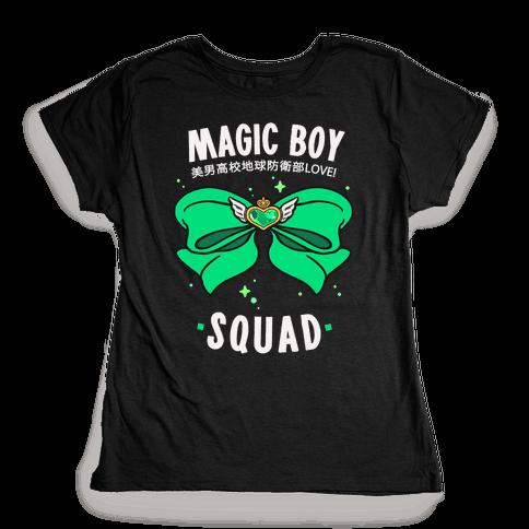 Magic Boy Squad (Green) Womens T-Shirt