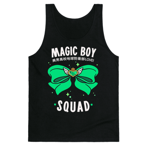 Magic Boy Squad (Green) Tank Top