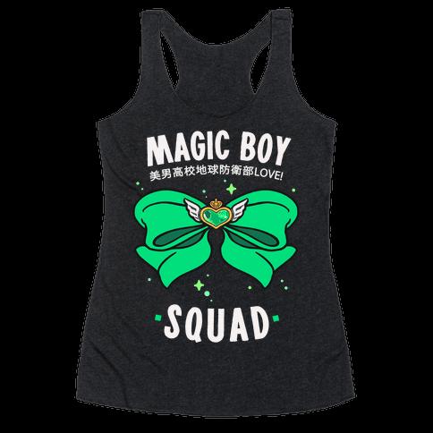 Magic Boy Squad (Green) Racerback Tank Top