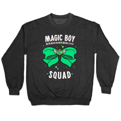 Magic Boy Squad (Green) Pullover