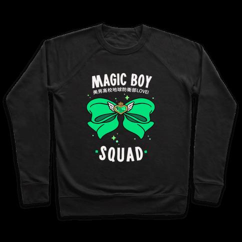 Magic Boy Squad (Green) Pullover