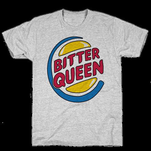 Bitter Queen Parody Mens T-Shirt
