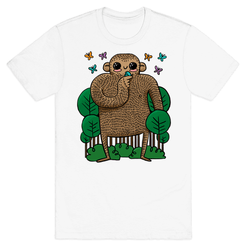 Baby Bigfoot Mens T-Shirt
