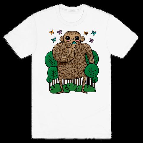 Baby Bigfoot Mens T-Shirt