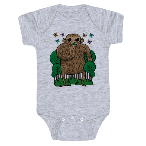 Baby Bigfoot Baby Onesy