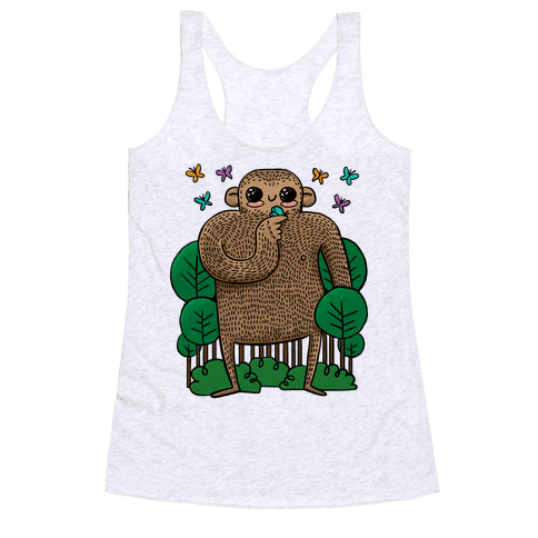 Baby Bigfoot Racerback Tank Top